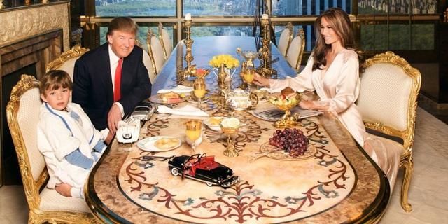 Những biệt thự xa hoa, dát vàng sang chảnh của Tổng thống Donald Trump - 10