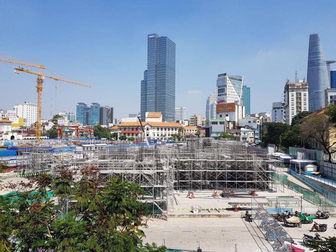 Tiến độ xây dựng dự án ONE CENTRAL HCM